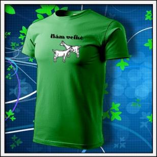 Mám veľké kozy - trávovozelené