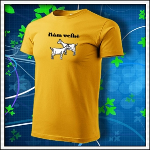 Mám veľké kozy - žlté