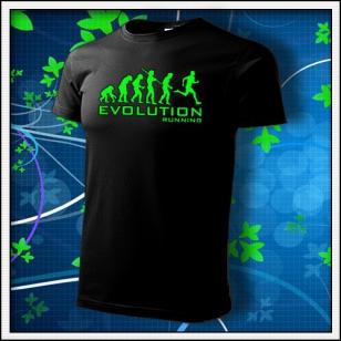 Evolution Running - unisex so zelenou neónovou potlačou