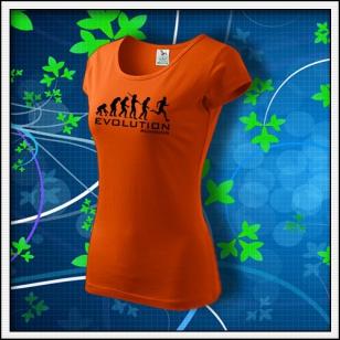 Evolution Running - dámske oranžové