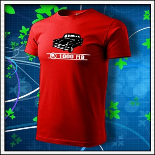 Škoda 1000 MB - červené