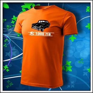 Škoda 1000 MB - oranžové