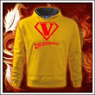 SuperVýchodňár - žltá mikina