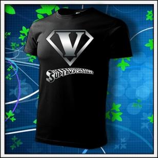 SuperVýchodňár - unisex tričko reflexná potlač