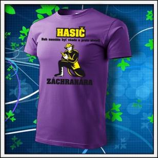 Hasič - fialové