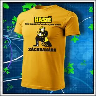 Hasič - žlté