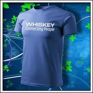 Whiskey - svetlomodré