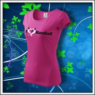 I Love Handball - dámske purpurové