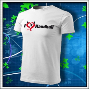 I Love Handball - biele