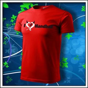 I Love Handball - červené