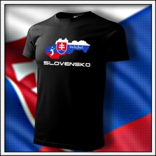 Slovensko - Volejbal - detské čierne