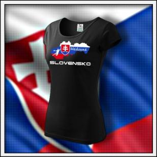 Slovensko - Hádzaná - dámske čierne