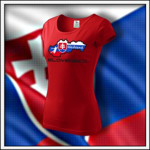 Slovensko - Hádzaná - dámske červené