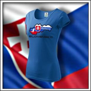 Slovensko - Hádzaná - dámske svetlomodré