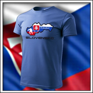 Slovensko - Hokejbal - detské svetlomodré