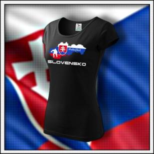 Slovensko - Hokejbal - dámske čierne