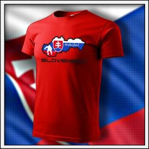 Slovensko - Hokejbal - červené