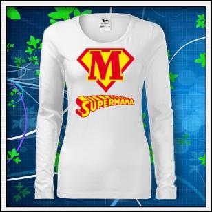 Supermama - SLIM dámske biele
