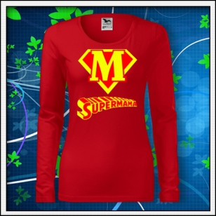 Supermama - SLIM dámske červené