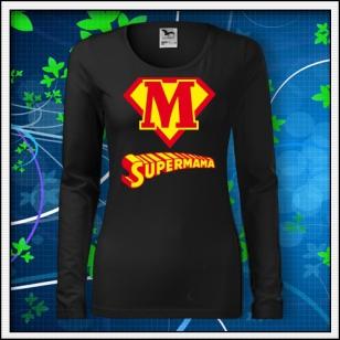 Supermama - SLIM dámske čierne