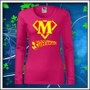 Supermama - SLIM dámske malinové