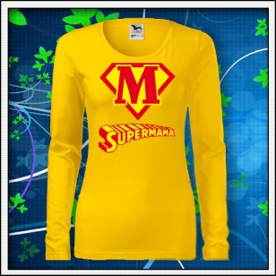 Supermama - SLIM dámske žlté