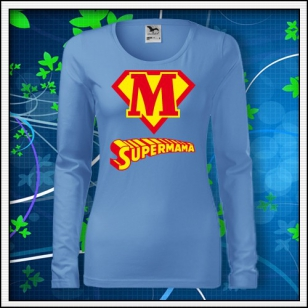 Supermama - SLIM dámske nebeské modré