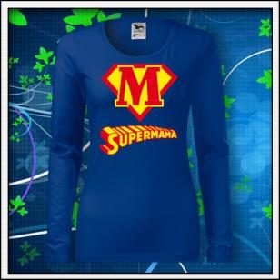 Supermama - SLIM dámske kráľovské modré