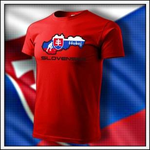 Slovensko - Hokej - detské červené