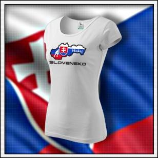 Slovensko - Hokej - dámske biele