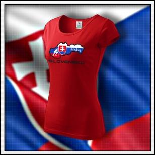 Slovensko - Hokej - dámske červené
