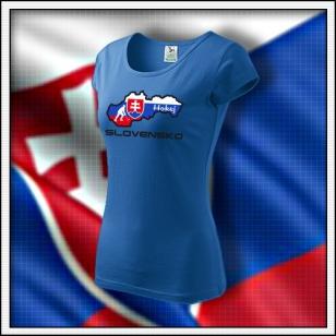 Slovensko - Hokej - dámske svetlomodré