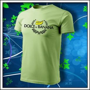 Dolce & Banana - hráškovozelené