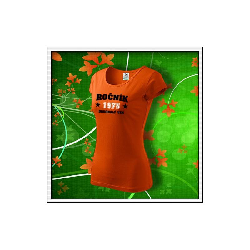 Dokonalý vek - dámske oranžové