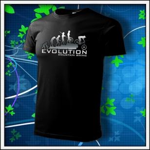 Evolution Mountain Biking - unisex tričko reflexná potlač