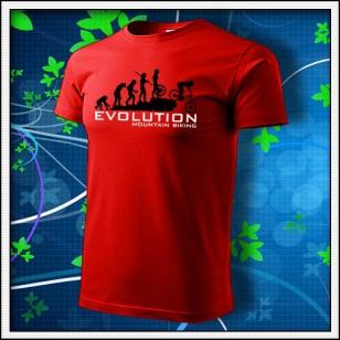 Evolution Mountain Biking - červené