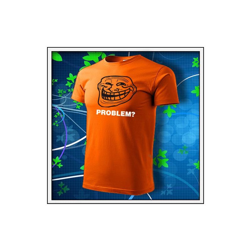 Meme Problem? - oranžové