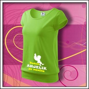 Budem anjelik 01 - jablkovo zelené
