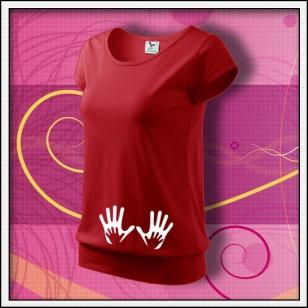Ruky - červené