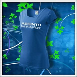 Absinth - dámske svetlomodré