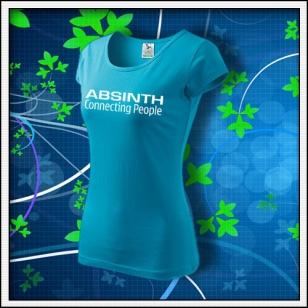 Absinth - dámske tyrkysové