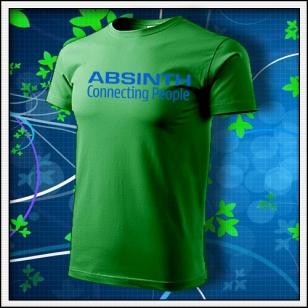 Absinth - trávovozelené