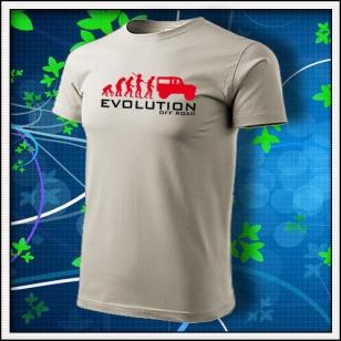 Evolution Off Road - ľadovosivé