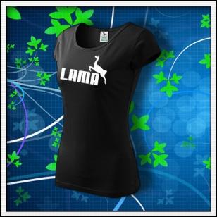 VÝPREDAJ !!! - 1 ks Lama - dámske čierne S