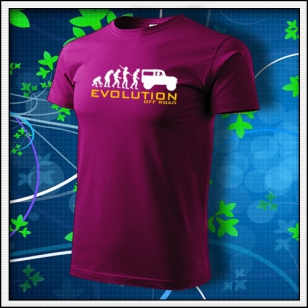 Evolution Off Road - fuchsiared