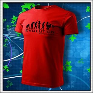 Evolution Motocross - červené