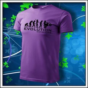 Evolution Motocross - fialové