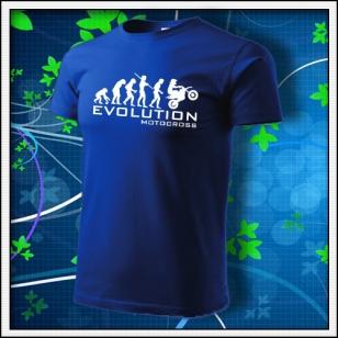 Evolution Motocross - kráľovské modré