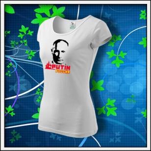 VÝPREDAJ !!! - 1 ks Putin - dámske biele XXL