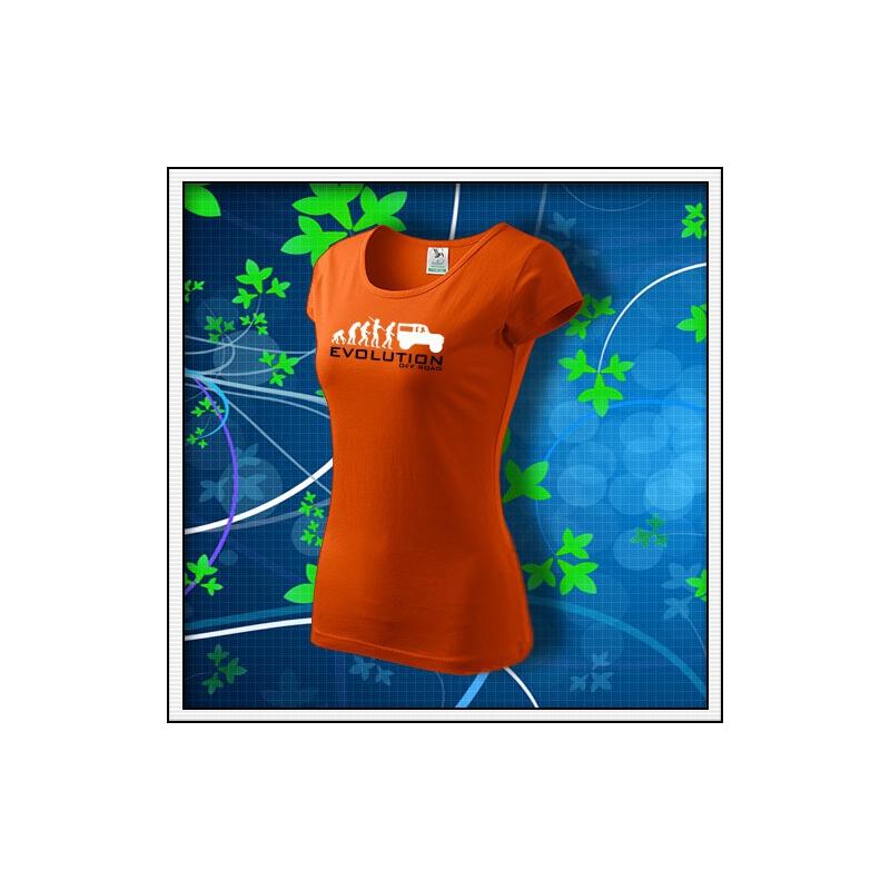 Evolution Off Road - dámske oranžové